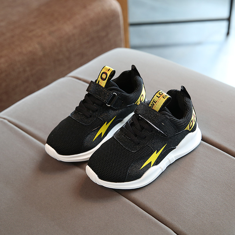 Factory Wholesale OEM Children Unisex Kids Shoes Fashion Colorful Soft Sole Sports Shoes