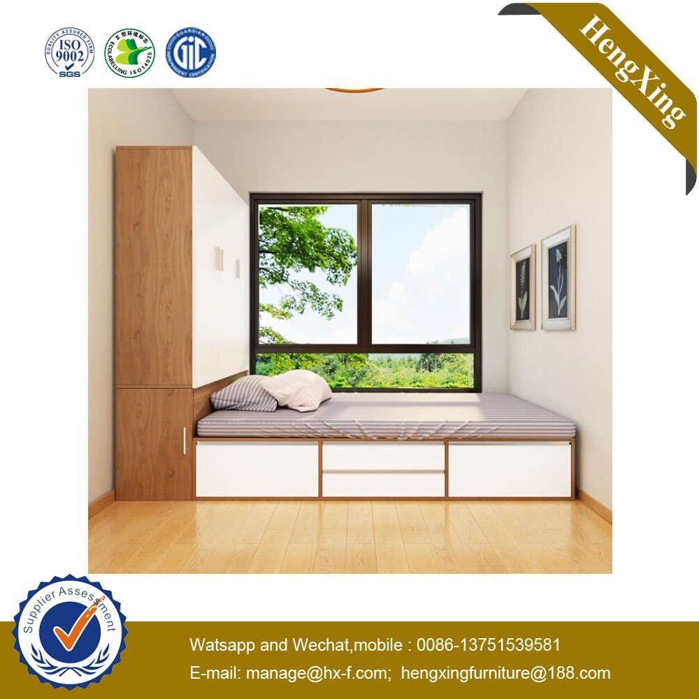 [Hot Item] New Design School Bedroom Set Wooden MFC MDF Children Bed  Hx-8nr1021