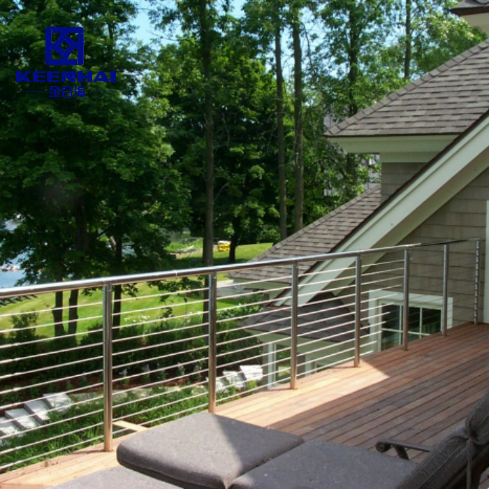 China Outdoor Tubular Metal Staircase Railing Stainless ...