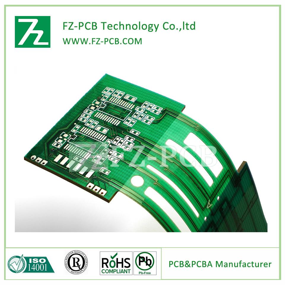China Semi Flexible Pcb Board Double Layer Fpc Shenzhen Oem Electronic Printed Circuit Manufacturerpcb Flex