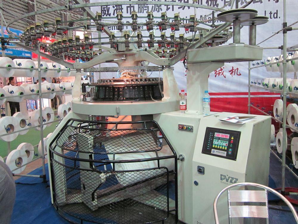 China Blanket Production Line Making Machine Clj China