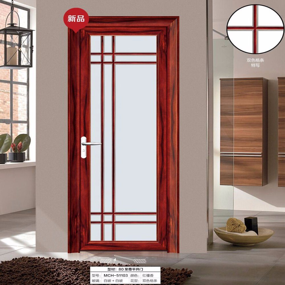 China Aluminum Bathroom Glass Door Prices Philippines China