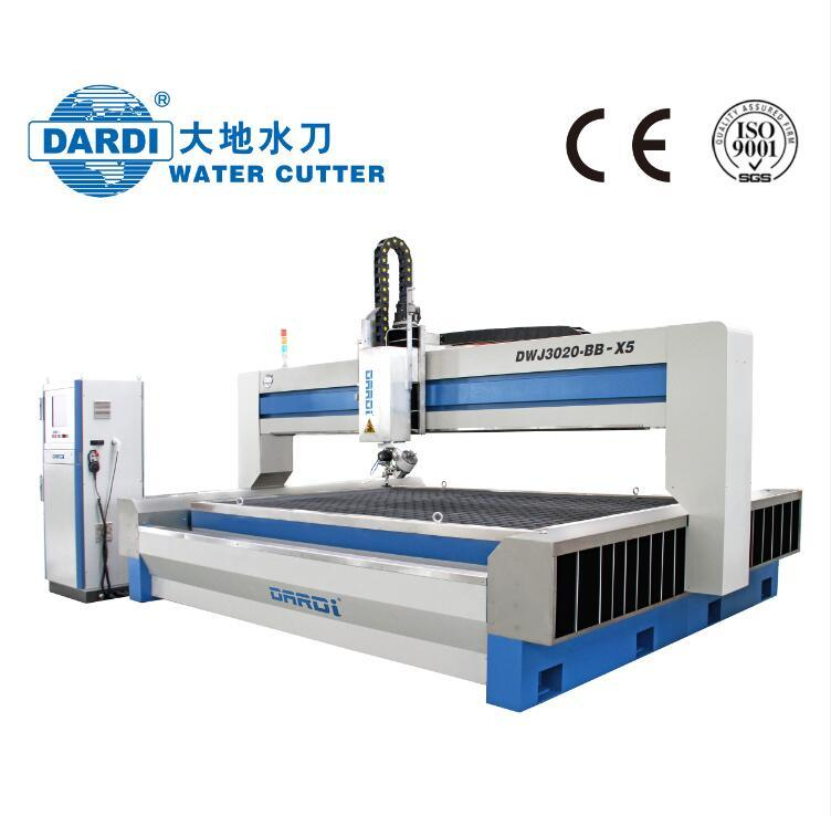 5-Axis Abrasive Water Jet CNC Cutting Machine, Metal Cutting Machine