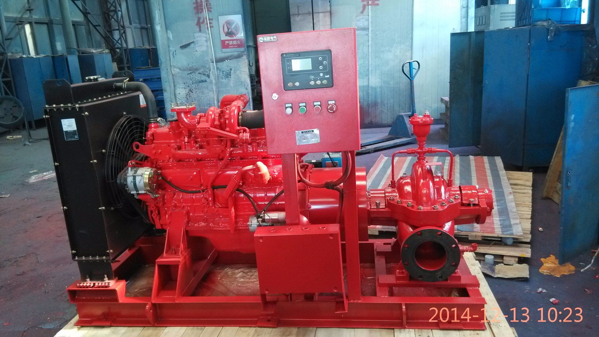 Fire-Fighting Centrifugal Pumps with UL Certificate (XBC)