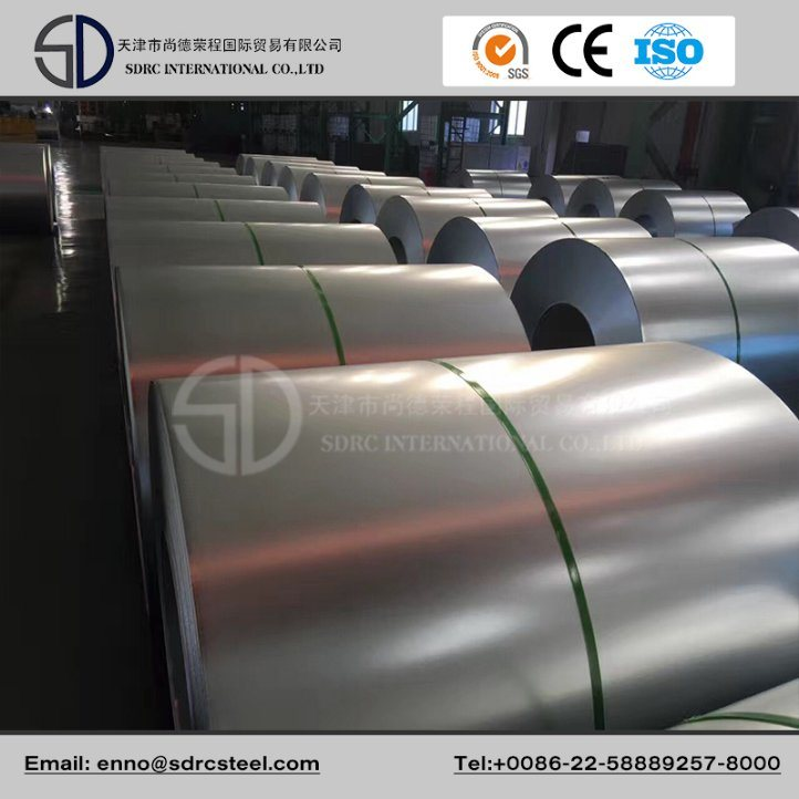 Dx53D Z100 Zero Spangle Accurate Galvanized Steel Coil, Zinc Coated Steel Coil