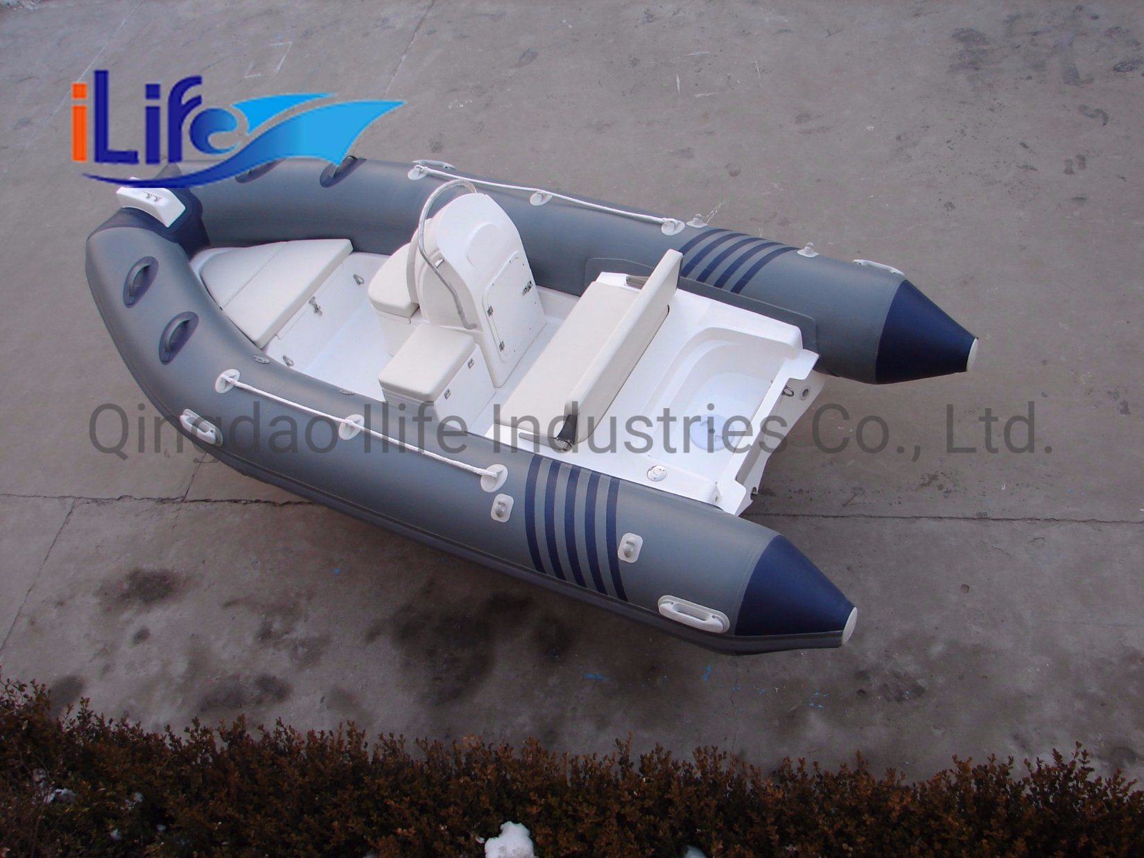 China Ilife 4 3m Ce Center Console And Steering Wheel Fiberglass Rigid Hull Rigid Inflatable Boat China Passenger River Fishing Plastic Boat And Rigid Inflatable Rubber Boat Price