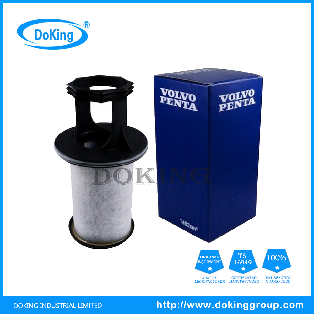 China High Quality Fuel Filter 3584145 For Volvo Automotive Boat Location Filters Truck