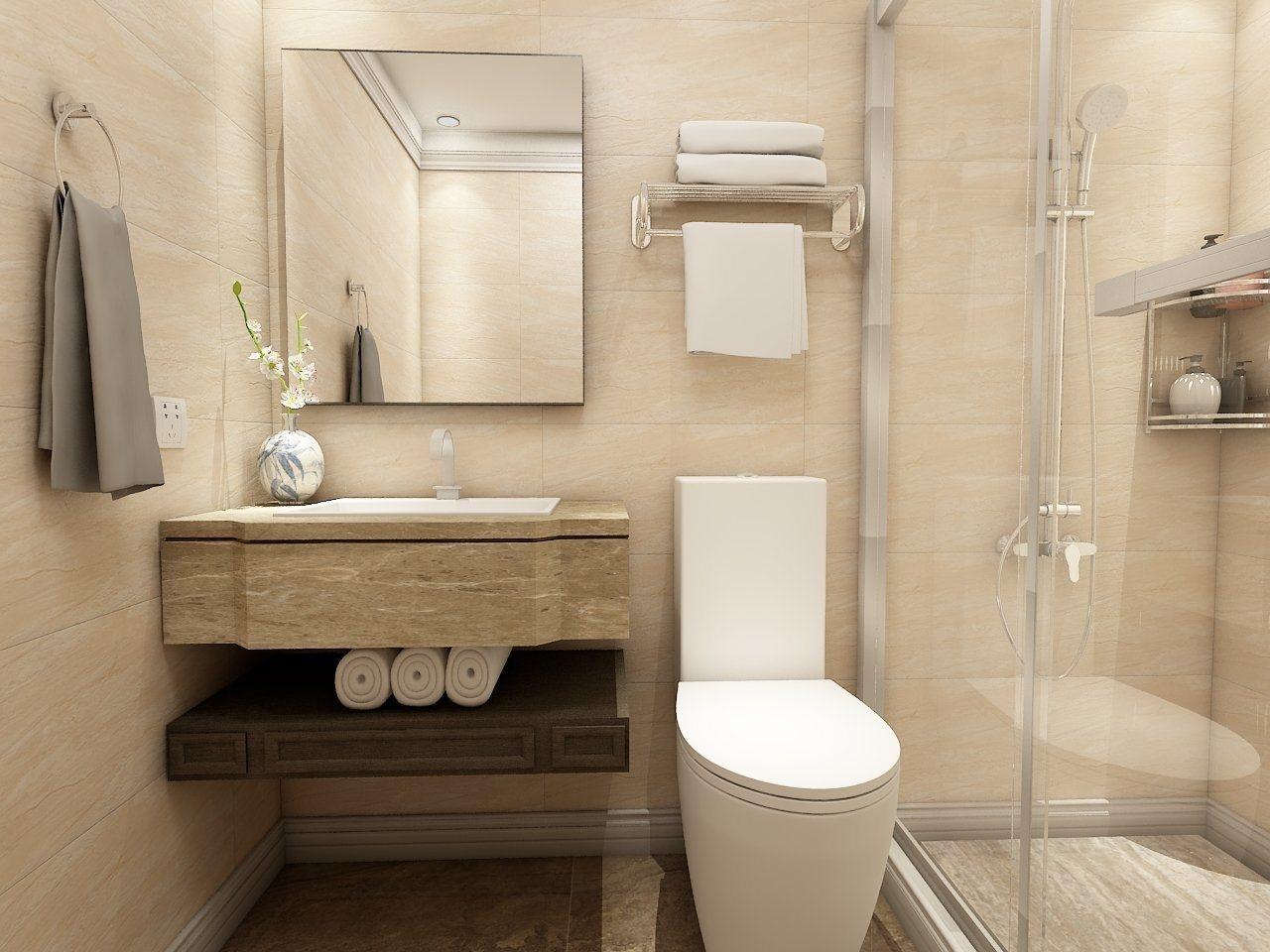 China Prefab Bathroom Set With Shower Enclosure For Hotel China Bathroom Toilet