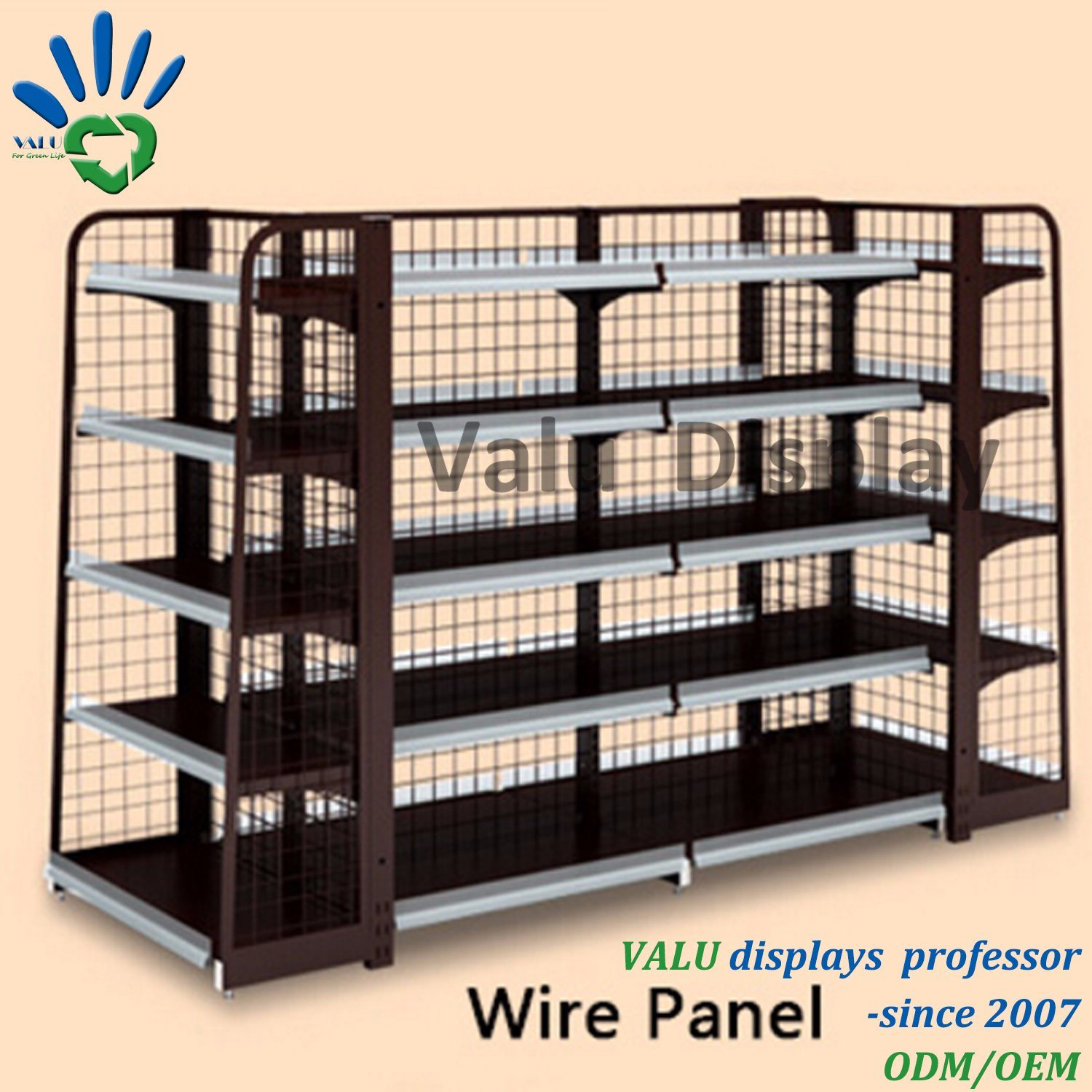 rack snack tier mil black display wire square baskets cal w