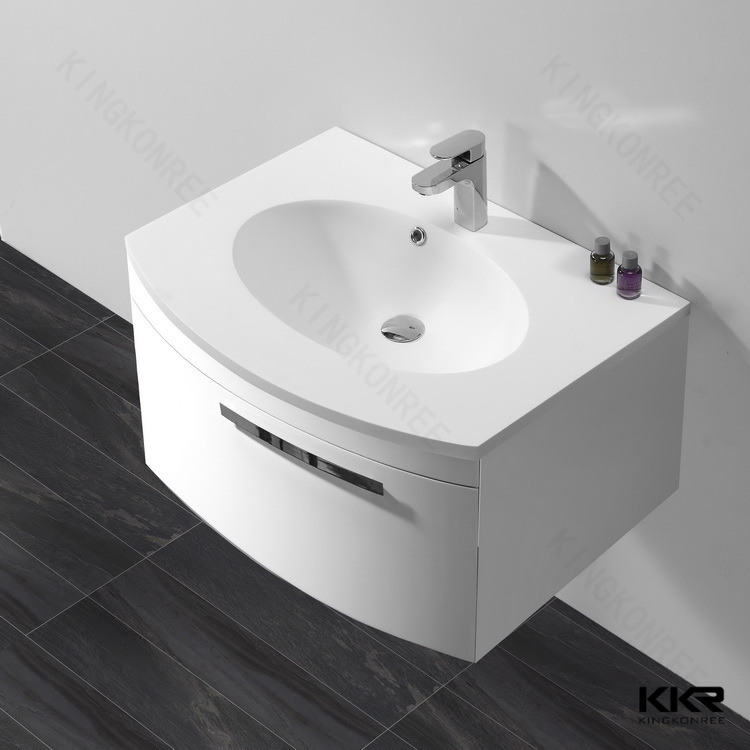 Modern Sanitary Ware Stone Wash Basin For Bathroom
