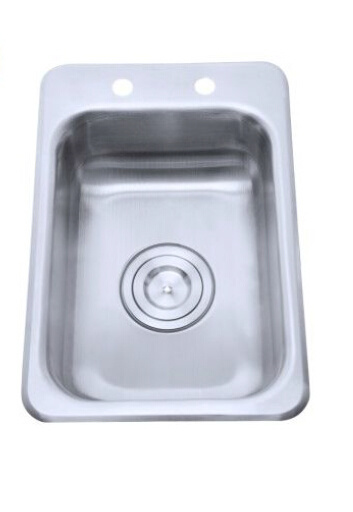 Wall Mounted Stainless Steel Bar Sink A38 9