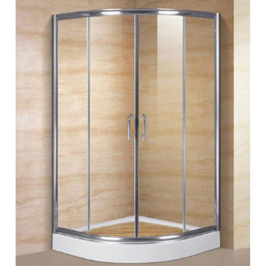 China Glass Shower Enclosures Aluminum Profile/ Stainless