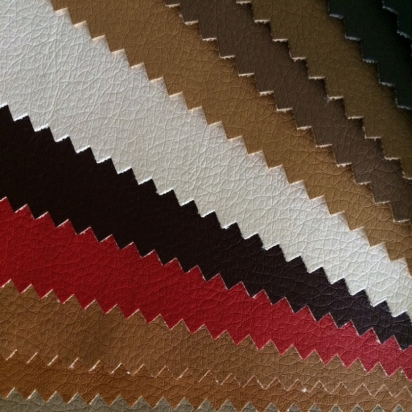 Embossing Bonded PU Leather for Furniture Industry pictures & photos