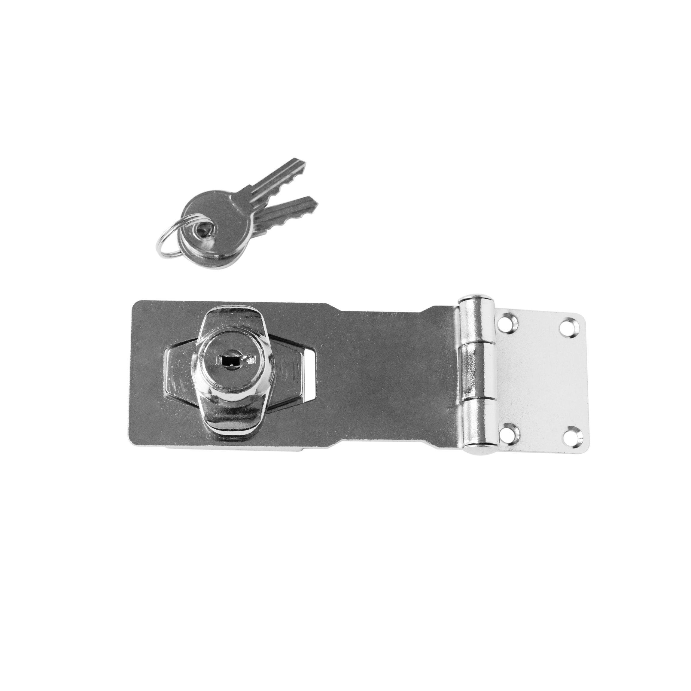 Hasp And Staple >> China 3 Locking Hasp Staple Steel With Zinc Locking Body