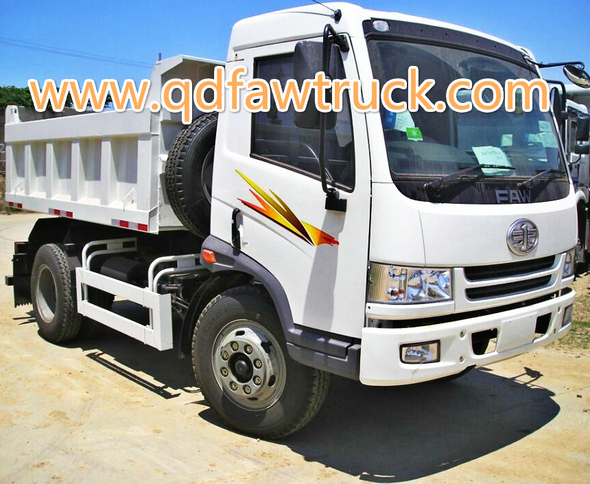 9 Tons Light Dump Truck pictures & photos