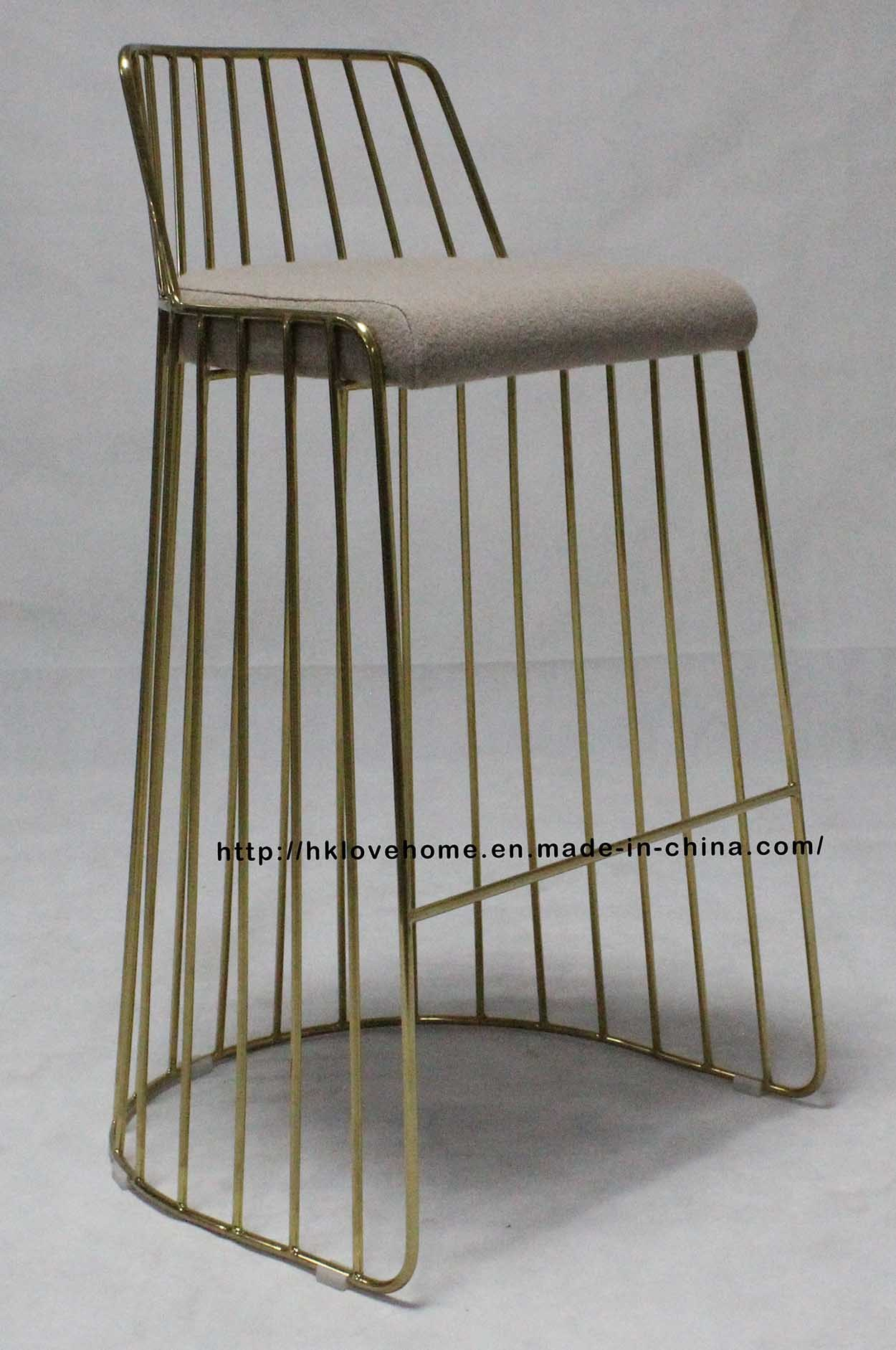 China metal restaurant outdoor furniture strings wire dining bar chairs china chairs dining chairs