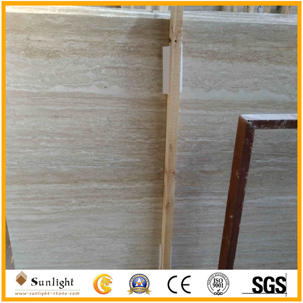 China Natural Stone Roma Beige Travertine Wall Cladding Flooring