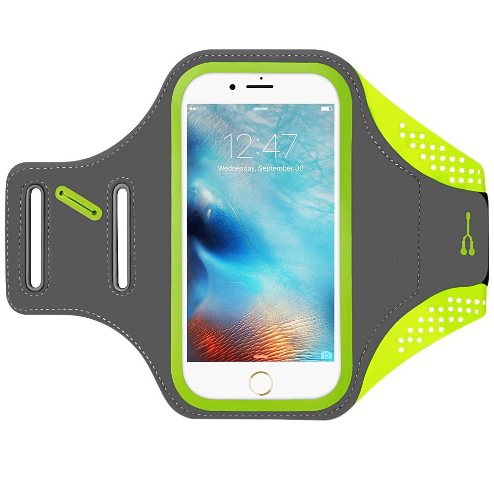 new concept 35eeb 6bfe5 [Hot Item] Waterproof Sport Running Armband for Mobile Phone Belt/iPhone 7  Plus Armband, iPhone 6s Plus / 6 Plus Arm Band, Vcoo Running Case for Phone  ...