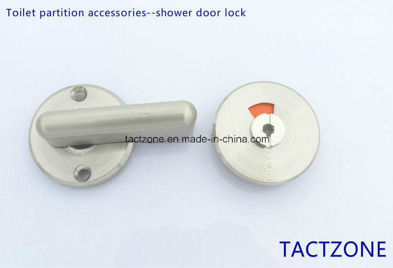 China Bathroom Partition Fittings Zinc Alloy Indicator Door Lock For - Bathroom partition door locks