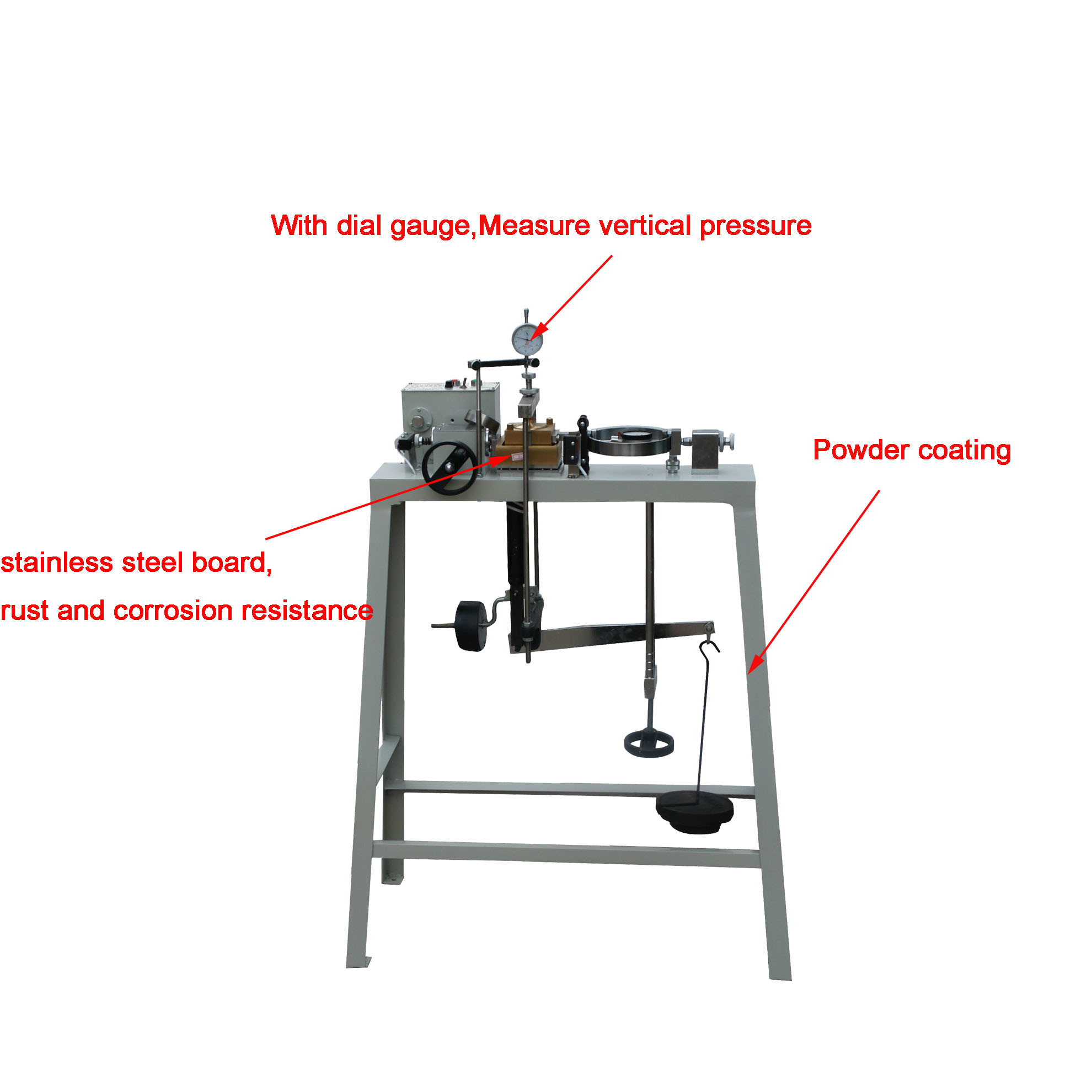 Three Speed Electric Strain Direct Shear Testing Apparatus