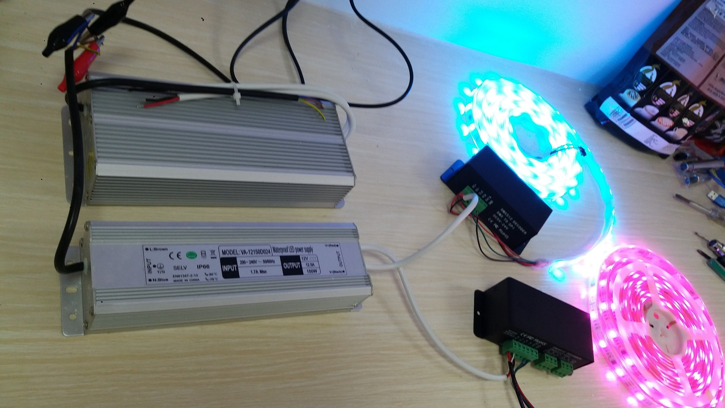 LED Driver 150W 24V Waterproof