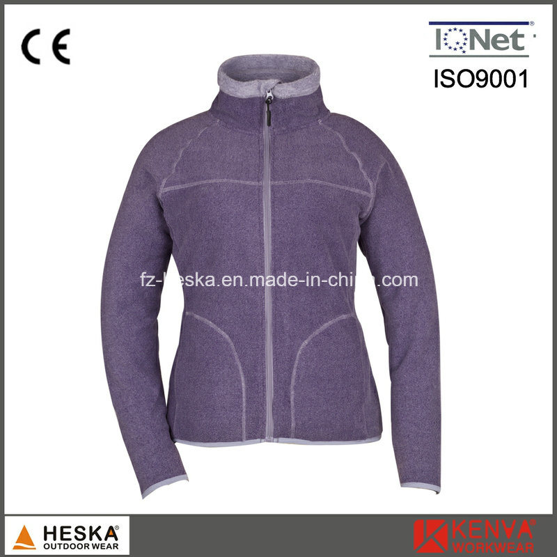 Customized Popular Women Polar Fleece Jacket pictures & photos