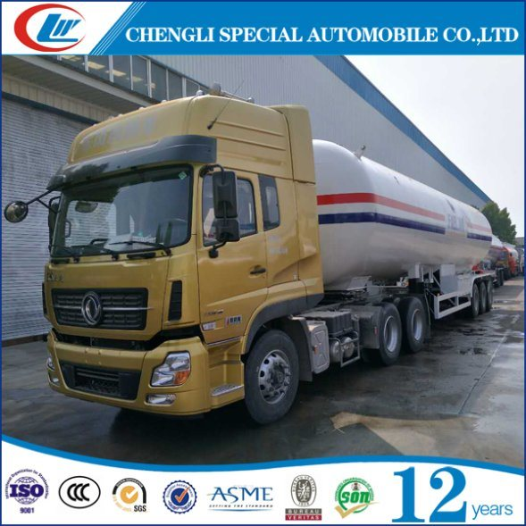 Manufacturer LPG Pressure Vessel 56cbm 26tons LPG Semi Trailer pictures & photos