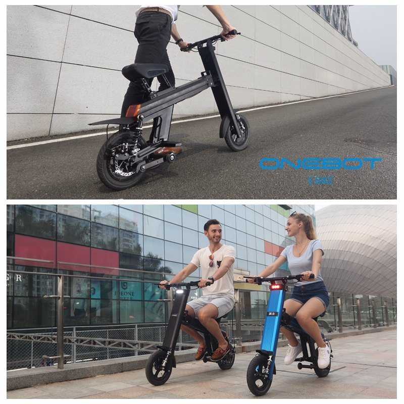 500W High Quality Folding E Bike with Double Lithium Battery