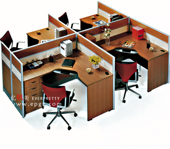 Cp-27 Two or Four People Workstation Modern Design Office Partition Furnirture
