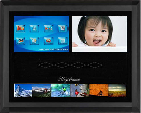 20 Inch Digital Picture Frame Gallery - origami instructions easy ...