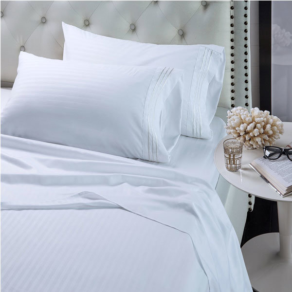 050b0a6439e2 China Hotel Balfour Ultrasoft Egyptian Cotton Bedding, Queen, White Sheet  Set with Pillowcase - China Sheet Set with Pillowcase, Queen Sheet Set