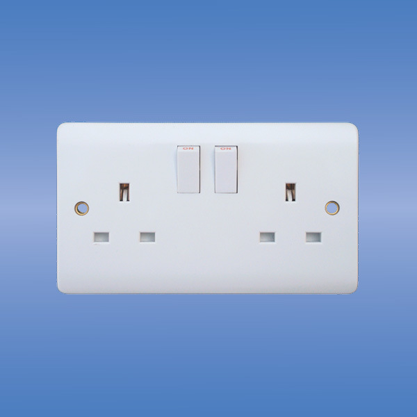 china wall switched socket uk standard china double switched socket switch socket. Black Bedroom Furniture Sets. Home Design Ideas