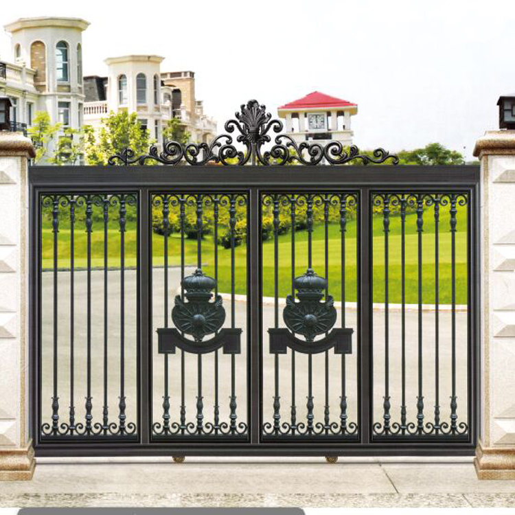 [Hot Item] Modern Life Aluminum Metal Villa Driveway Gates