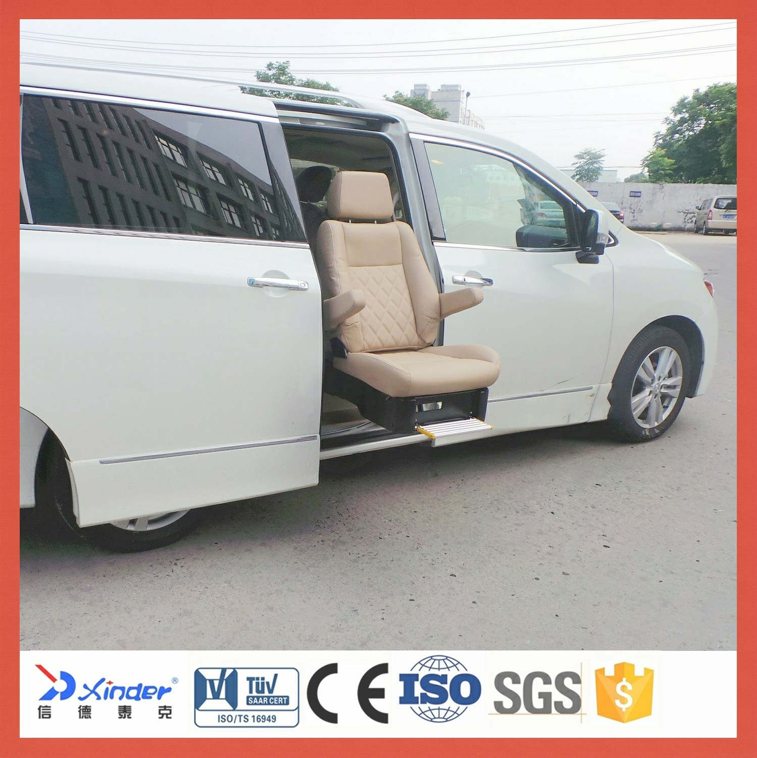 Van Swivel Car Seat for The Disabled with Loading 150kg pictures & photos