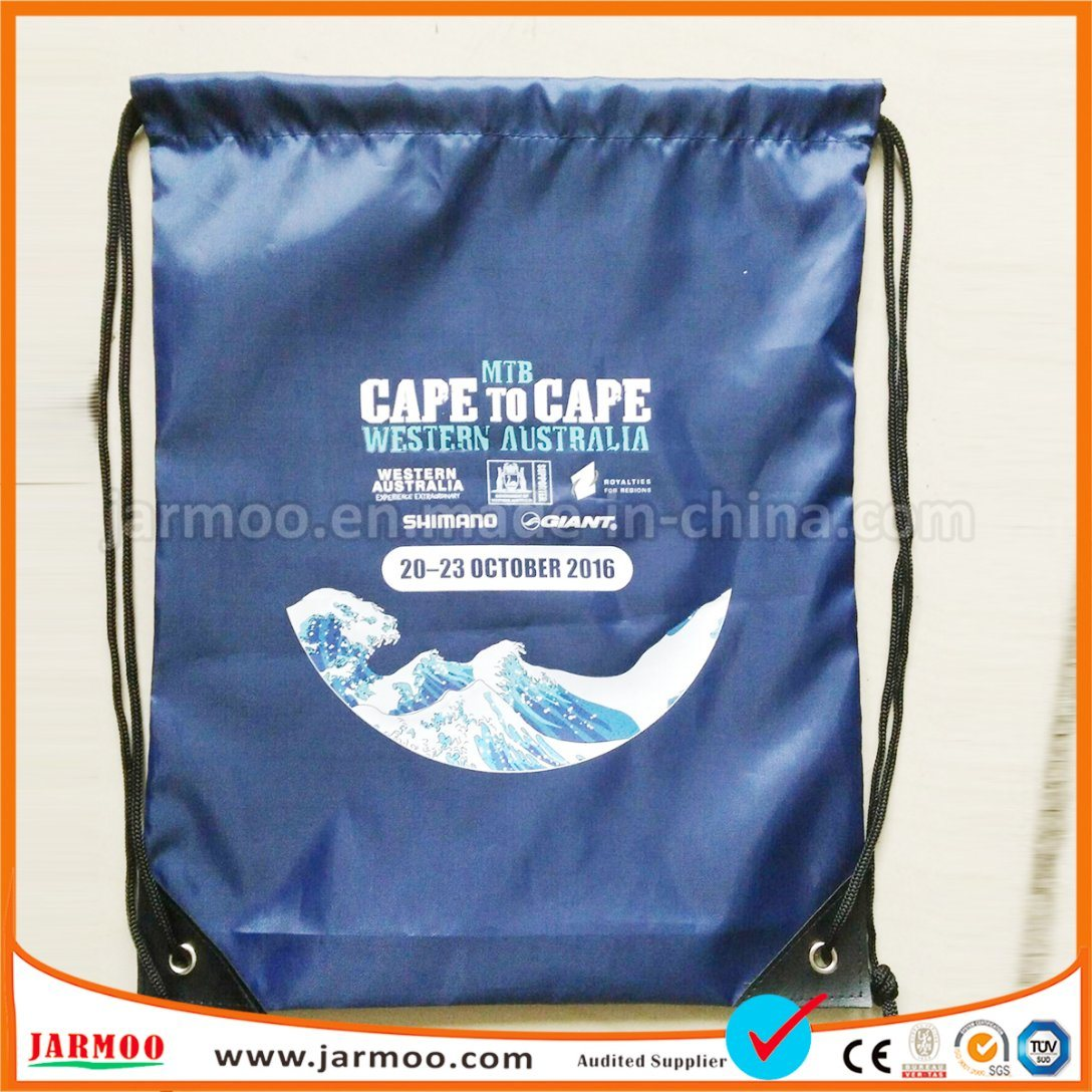 [Hot Item] Nylon Pull String Bag Promotional Products Wholesale