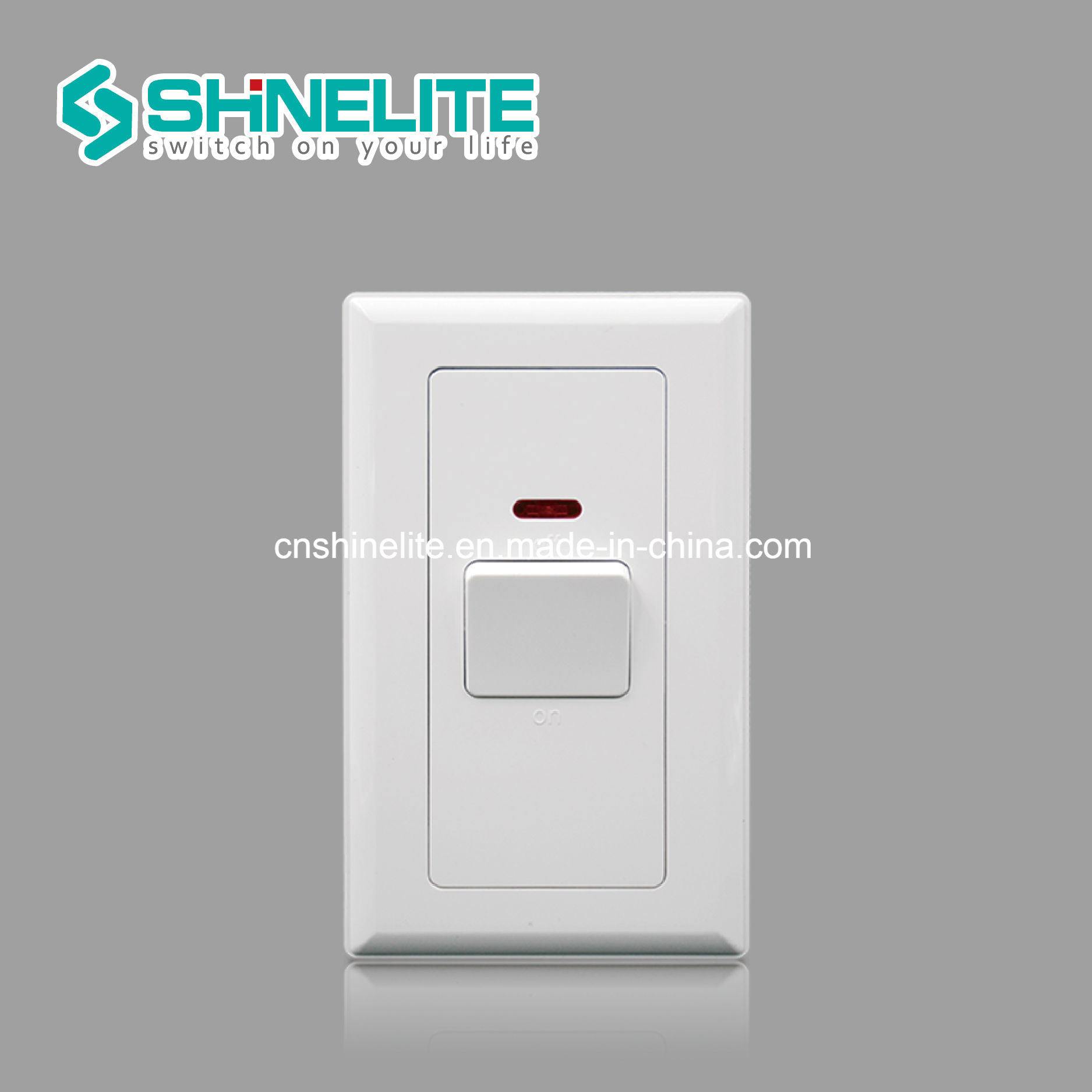 China 20A 1 Gang Double Pole Switch with Neon Photos & Pictures ...