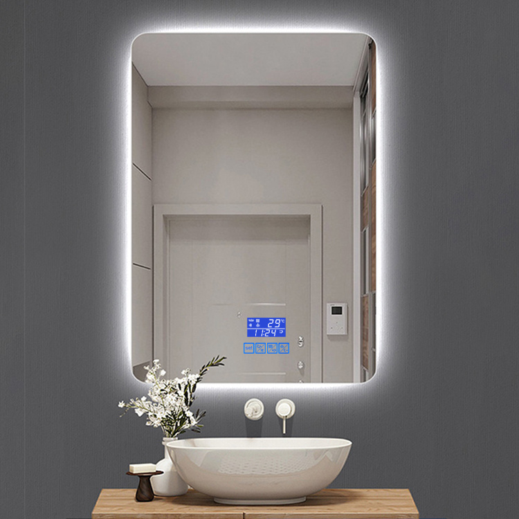 China Led Lighted Vanity Mirror, Bathroom Mirror With Led Lights And Bluetooth