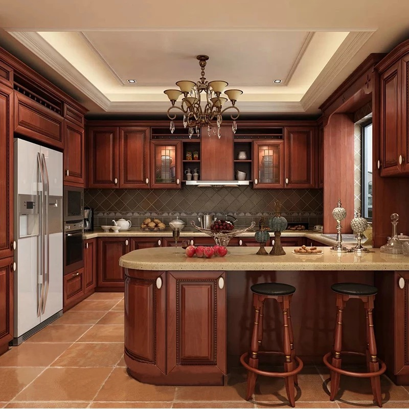 China American Style Luxury Solid Wood Simple Designs ...