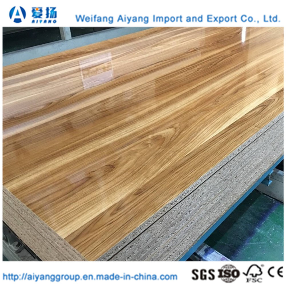 China Home Furniture Panels Plain Particle Board Melamine