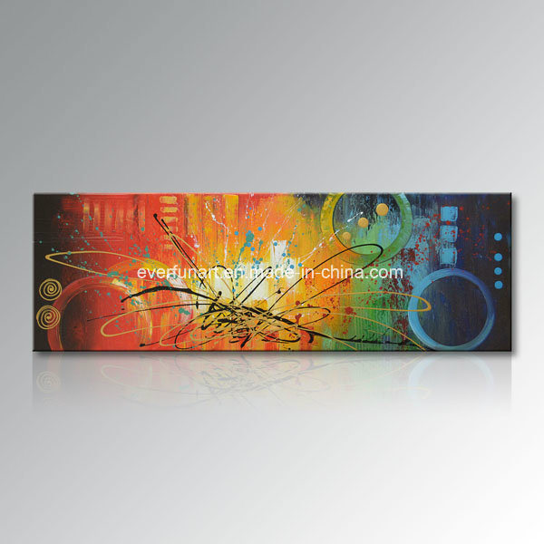 Hot Item Handmade Big Size One Panel Abstract Oil Painting Canvas Wall Art Home Decorations