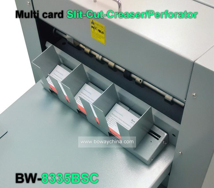 China Full Automatic A3 A4 Paper Namecard Cutting Slitting Creasing ...