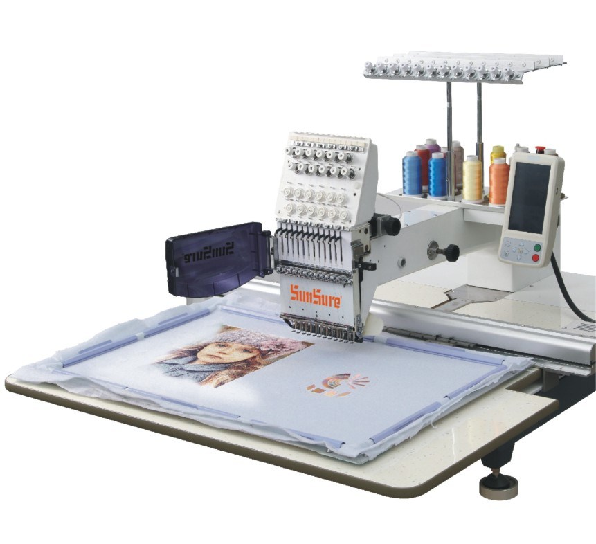 Single Head Embroidery Machine for T-Shirt Embroidery