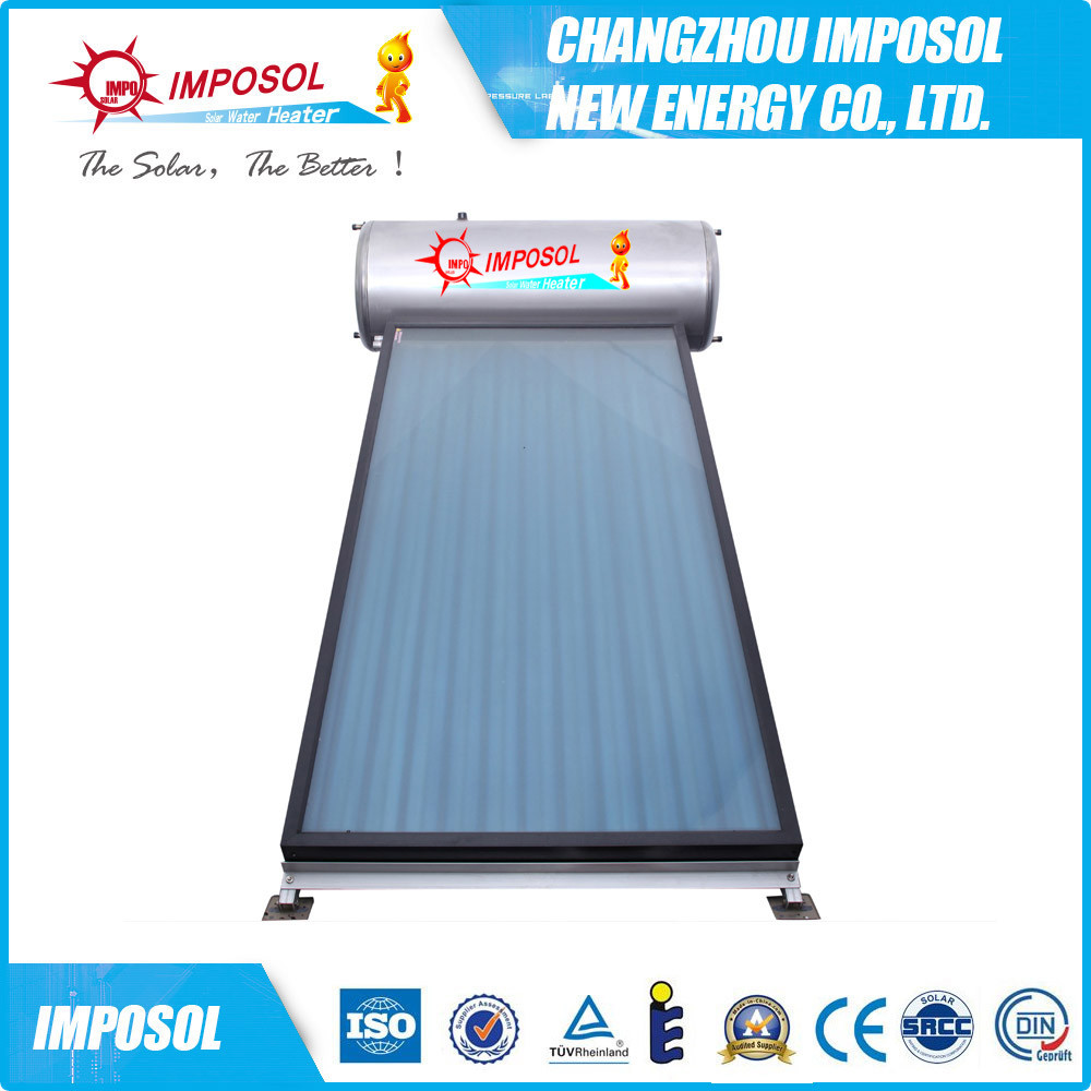China Integrated Flat Plate Pressure Direct Solar Water Heater ...