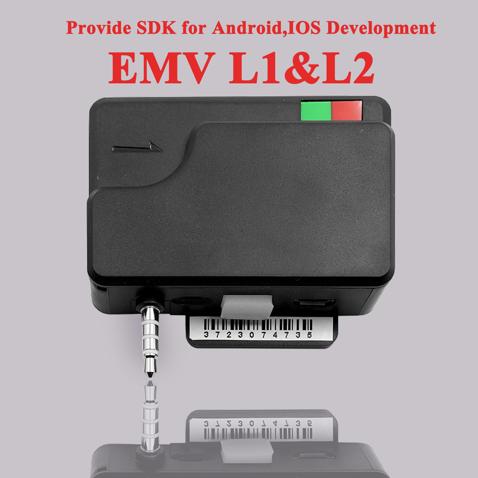 [Hot Item] EMV L1, L2 Imixpay Mobile Magnetic Card Reader with IC EMV Chip  Card Reader