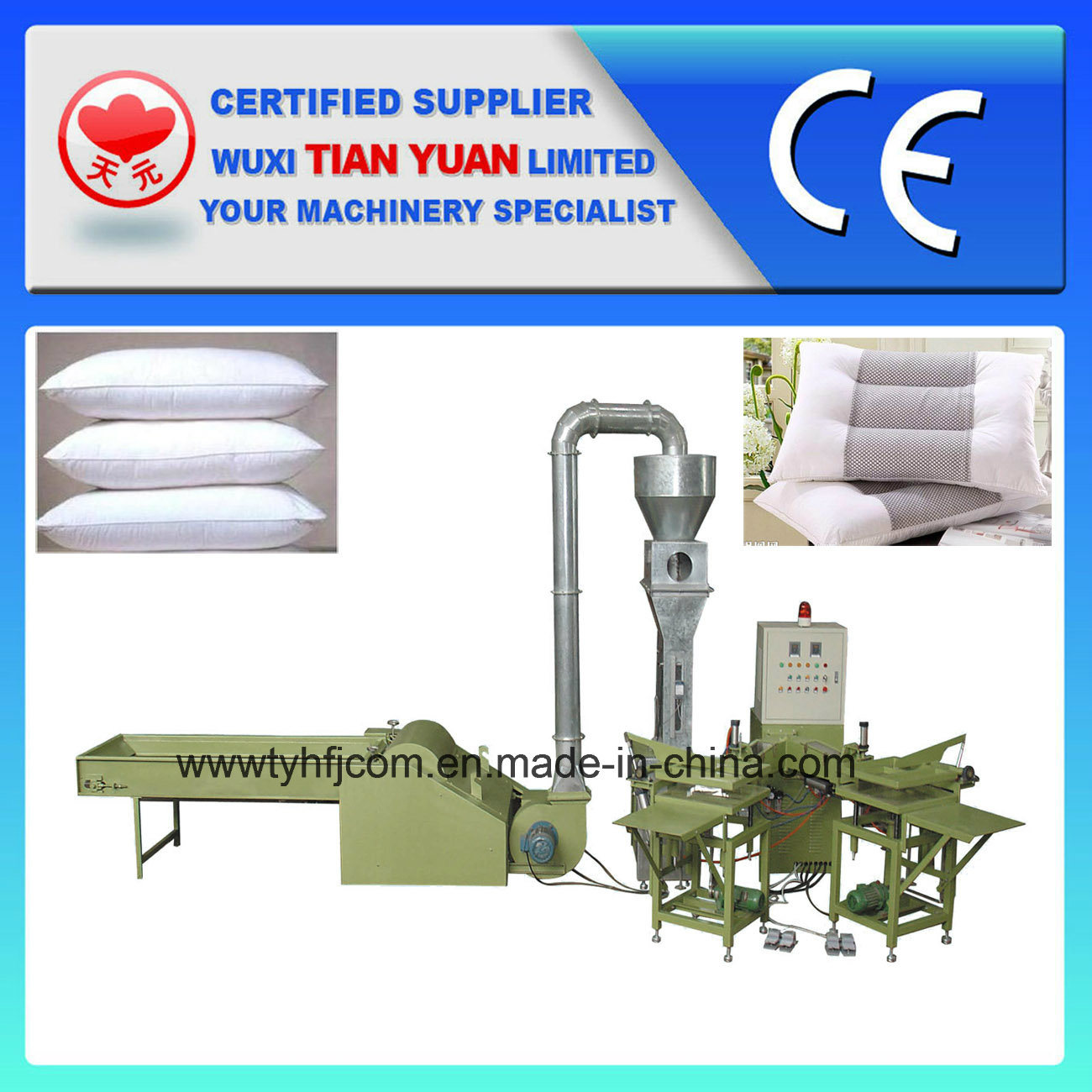 Automatic Weighting Pillow Filling Machine