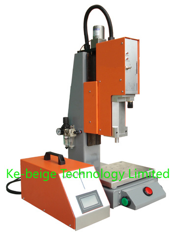 35kHz PLC Controlled Ultrasonic Plastic Welding Machine for Electronic Accessories Welding