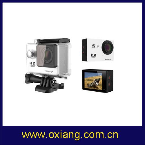 China Gopro Hero3 Style 4k WiFi Sport Camera 1080P 60fps