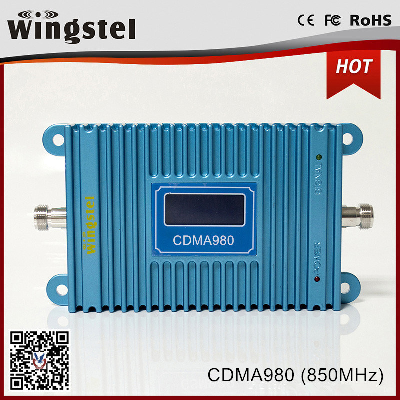 850MHz High Gain 3G Repeater Mobile Signal Booster with LCD