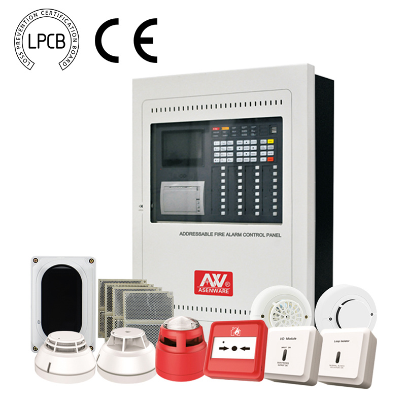 China Lpcb Certified Addressable Fire Alarm Control Panel - China ...