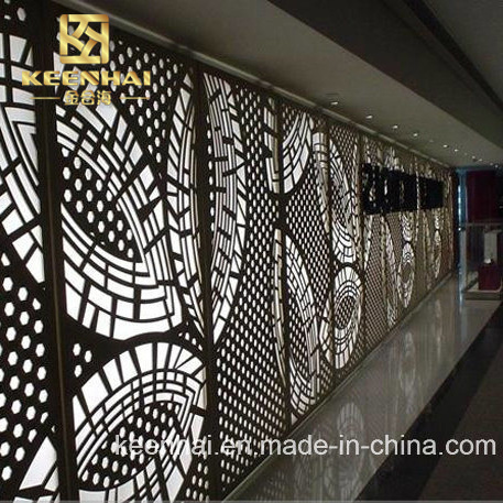 Architectural Laser Cut Aluminum Interior Wall Panel (Keenhai Wall Cladding  Panel 001)